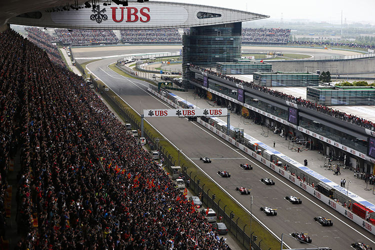 shanghai China Grand prix