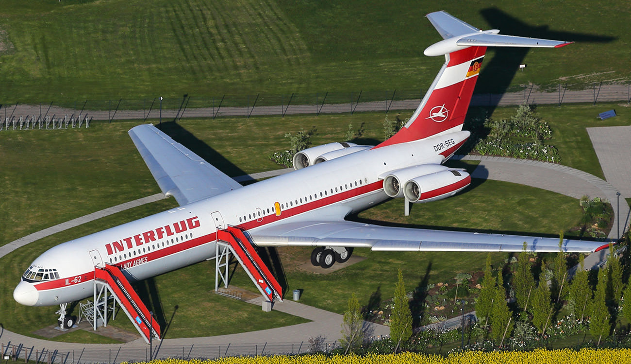 Ilyushin IL-62 Interflug