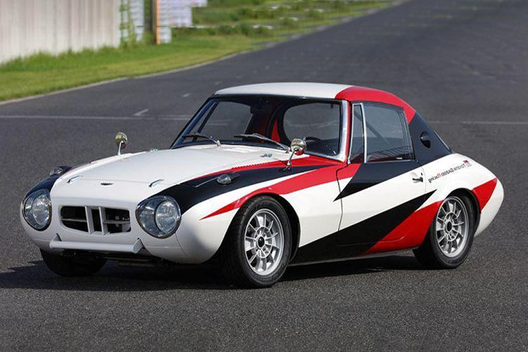 قدیمی ترین خودروی مسابقهای تویوتا بازسازی شد