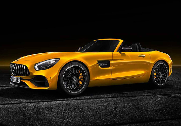 مرسدس بنز رودستر / Mercedes Benz AMG GT S Roadster