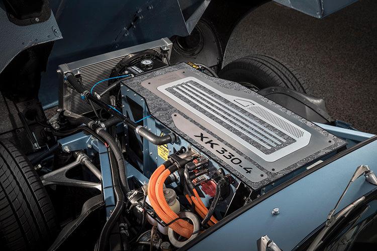 Jaguar Classic electric E-type Zero / خودروی الکتریکی کلاسیک جگوار ای-تایپ زیرو