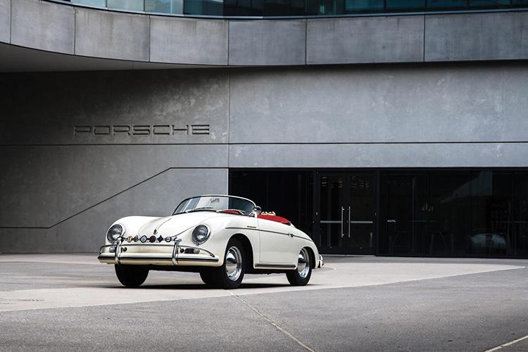 1956 Porsche 356 / خودروی کلاسیک روباز پورشه 356 مدل 1956