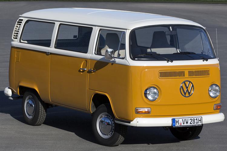 van Volkswagen Caravelle T2 type 2