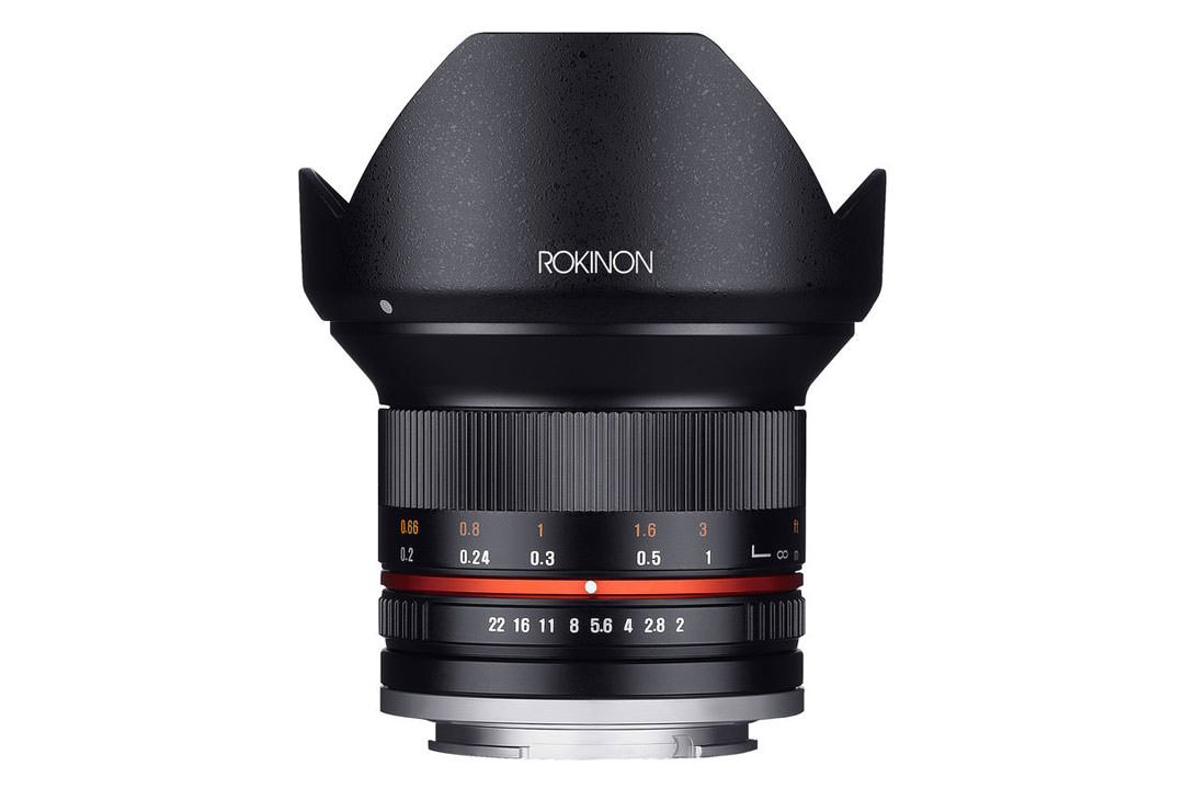 روکینون 12mm F2.0 NCS CS