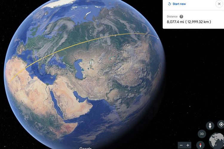 گوگل ارث / Google Earth