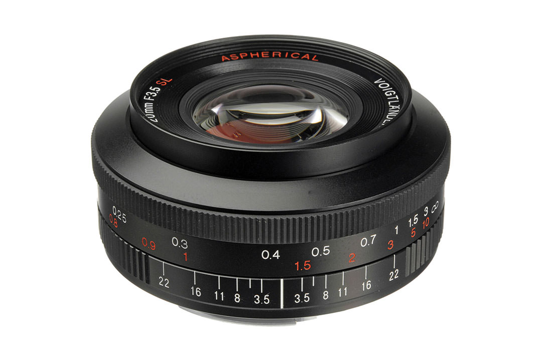 فوخلندر 20mm F3.5 Color Skopar SL II