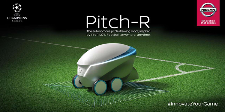 nissan robot pitch-r