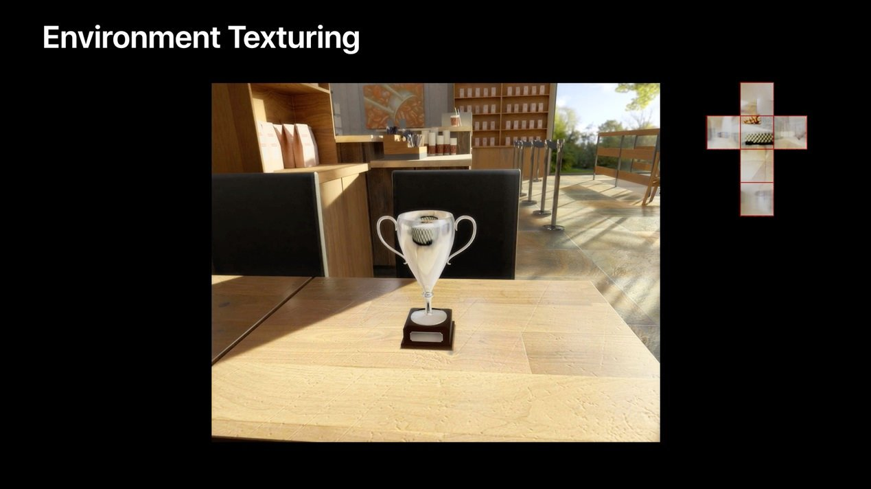 ARKIt Texturing Reflections