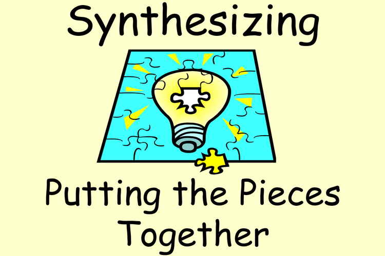 synthesize what you have learned