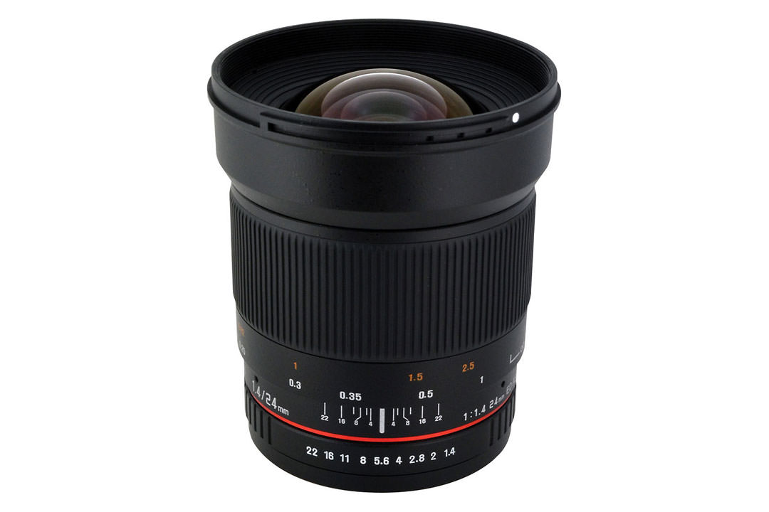 روکینون 24mm F1.4 Aspherical