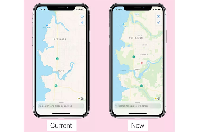 apple map/ اپل مپ
