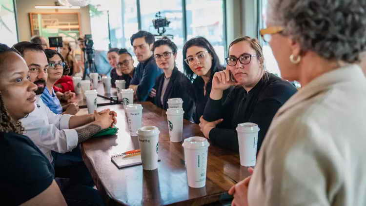 Starbucks anti-bias training day