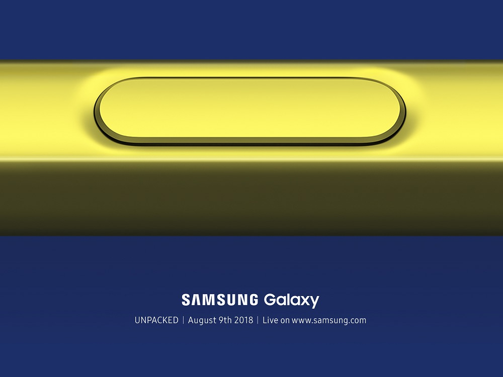 Galaxy Note 9 Teaser