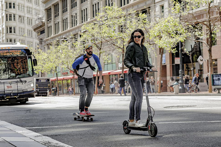 Uber electric scooter / اسکوتر برقی اوبر
