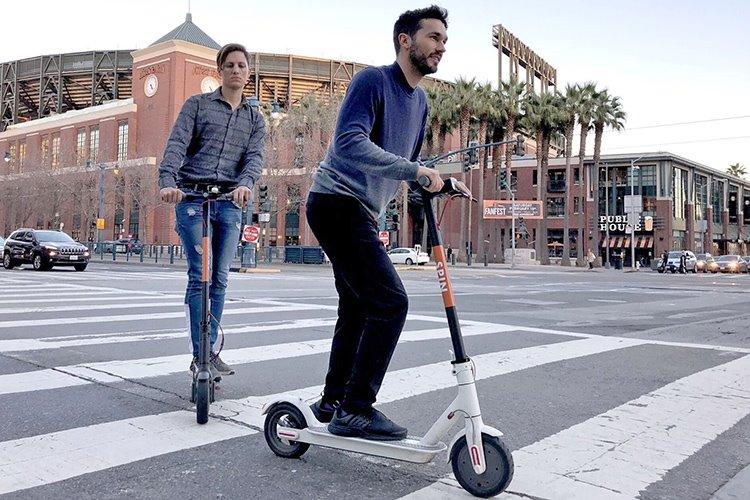 اوبر، به دنبال ناوگان اسکوتر برقی در سان فرانسیسکو