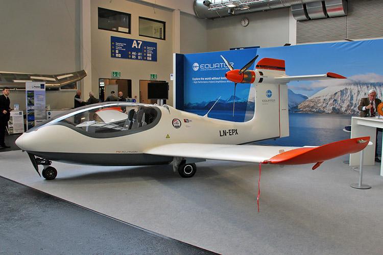 P2 Xcursion / هواپیمای آبی-خاکی