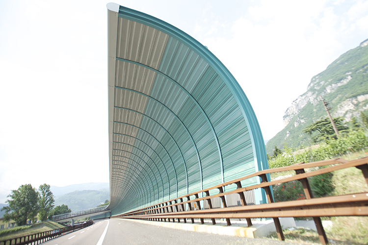 highway noise barriers wall