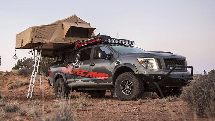 Nissan Titan XD Basecamp Concept / ون مفهومی نیسان تایتان ایکس دی بیس کمپ