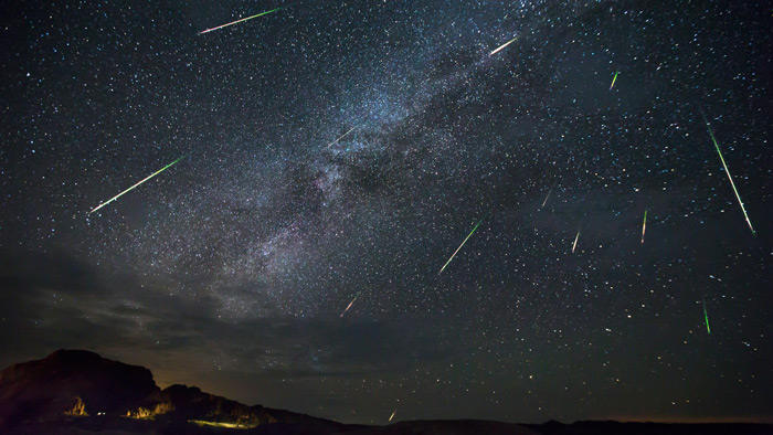 بارش شهابی برساوشی / Perseid meteor shower