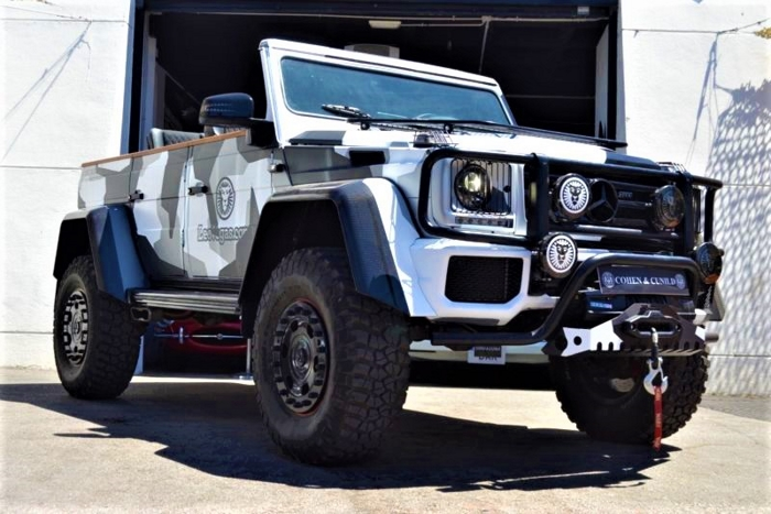 Jon Olsson's Convertible Mercedes G500 4×4²