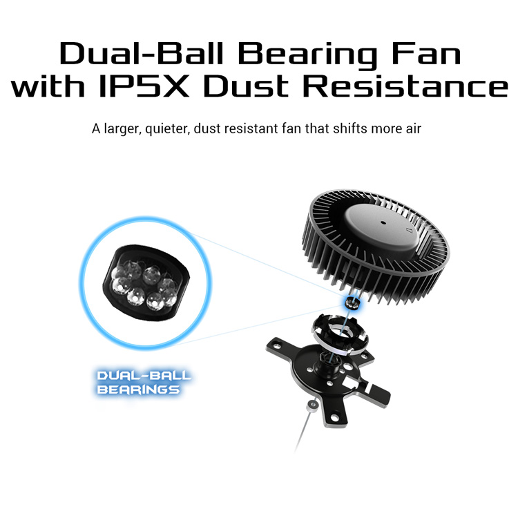 Asus Dual Ball Bearing Fan