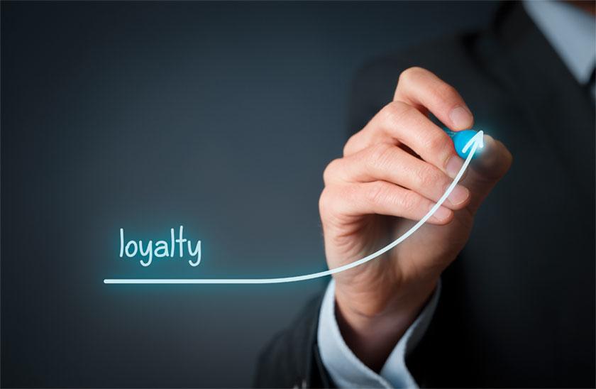 افزایش وفاداری مشتریان به شرکت