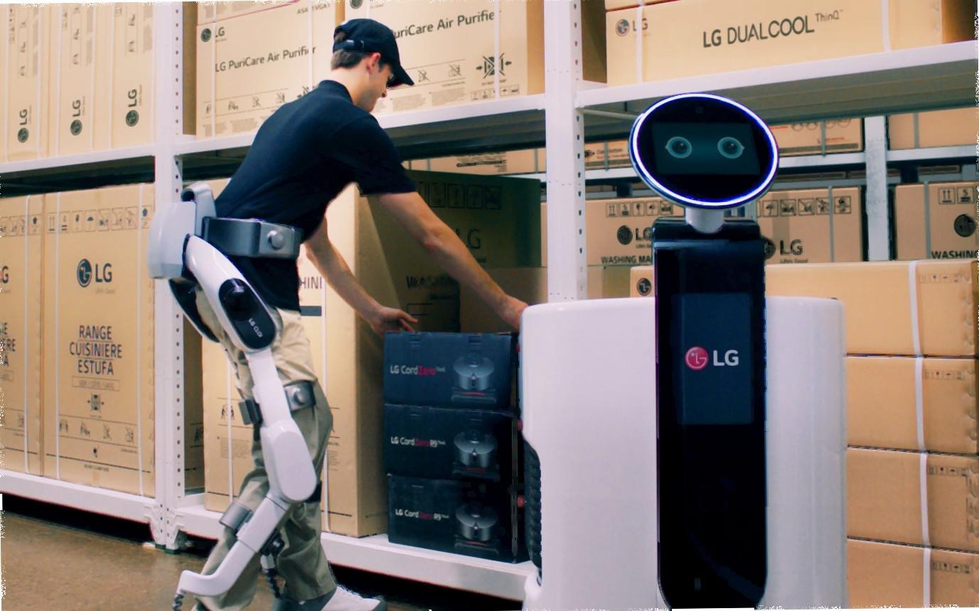 ال جی از ربات اسکلتی CLOi SuitBot طی نمایشگاه ایفا 2018 رونمایی میکند