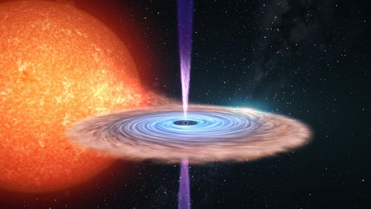 تشعشع سیاهچاله / black hole radiation