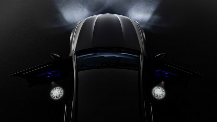 Mercedes-AMG LED door projector