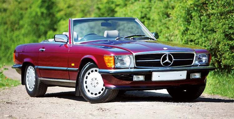 Mercedes Benz SL R107