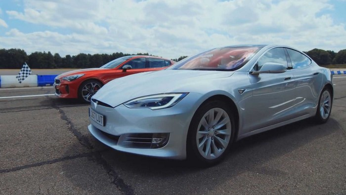 tesla model s/kia stinger