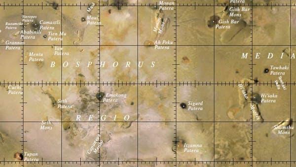 نقشه آیو