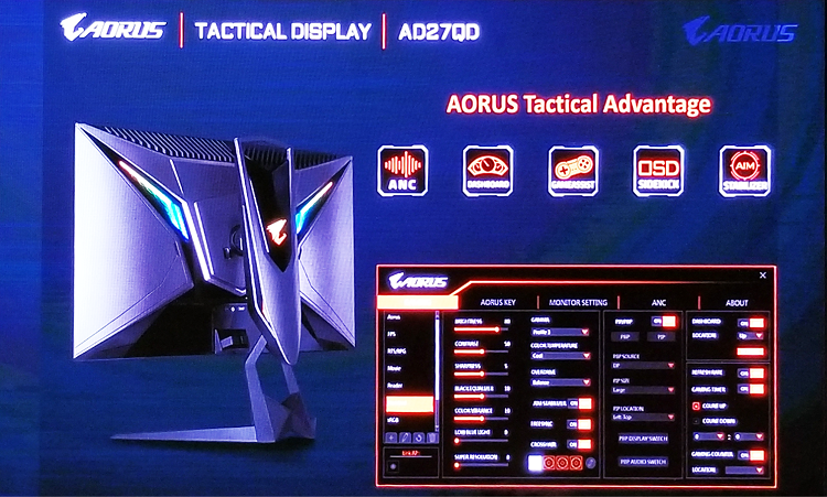 AD27QD Tactical Display‌