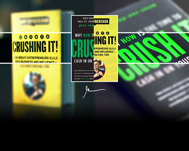 crushing it book/کتاب گری وی