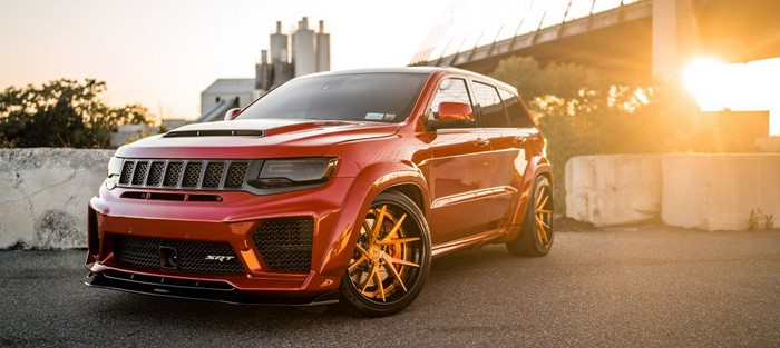 1200 HP Jeep Grand Cherokee By Ferrada