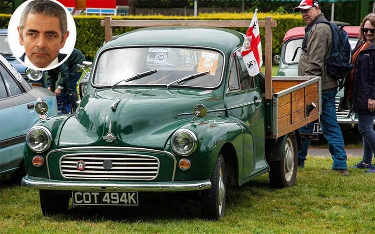 Rowan Atkinson - Morris Minor pick-up