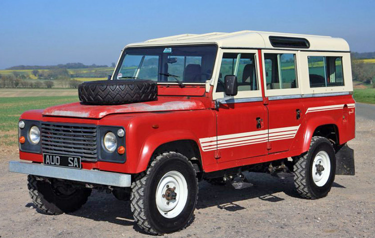 Land Rover Series 110 1983