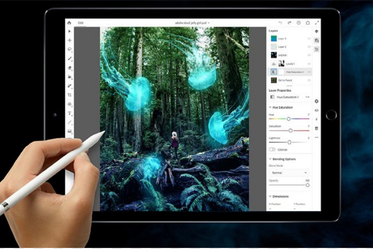 فتوشاپ آیپد / Adobe Photoshop for iPad
