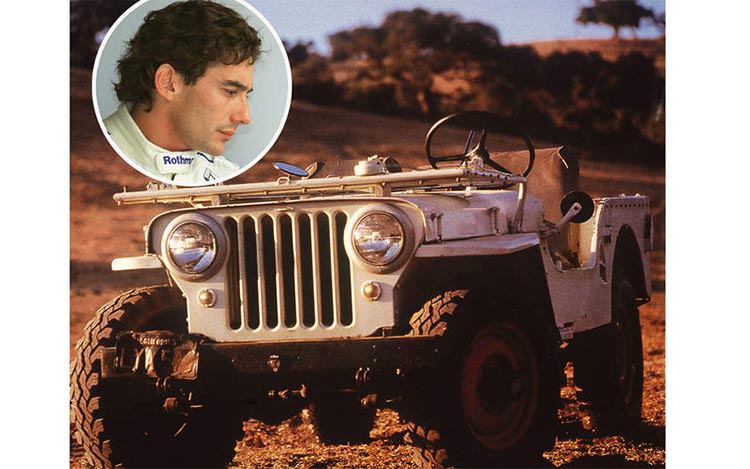 Ayrton Senna - Willys Jeep