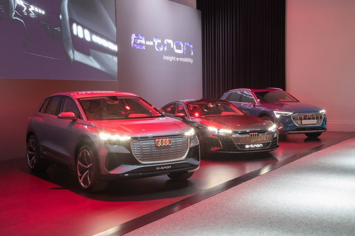 audi new platforms for ev cars