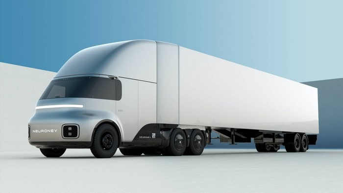 Neuron EV's T/One Pickup And Torq Semi Truck