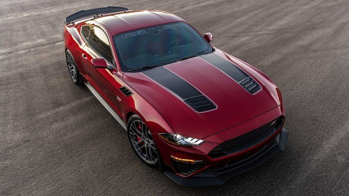 ford mustang roush edition