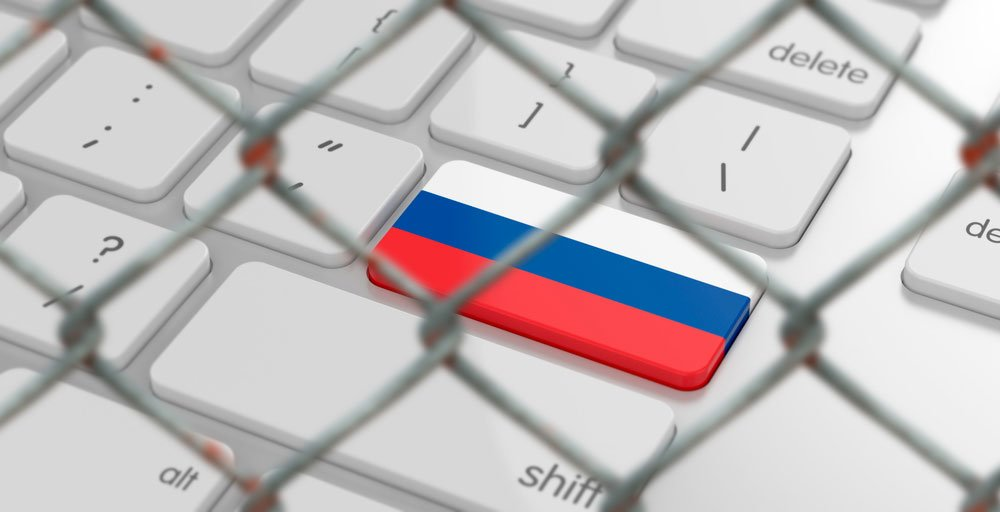 Russia successfully disconnected from the internet