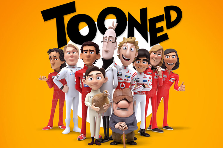mclaren cartoon tooned