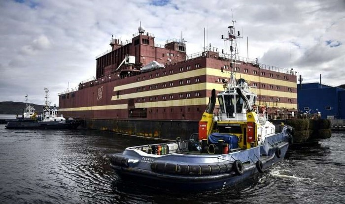 Russia First Floating Nuclear Power Plant