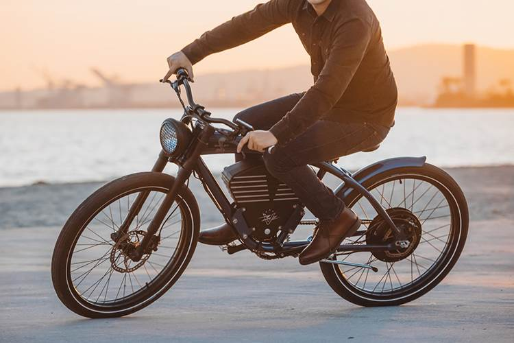 Vintage Electric e-bike / دوچرخه برقی