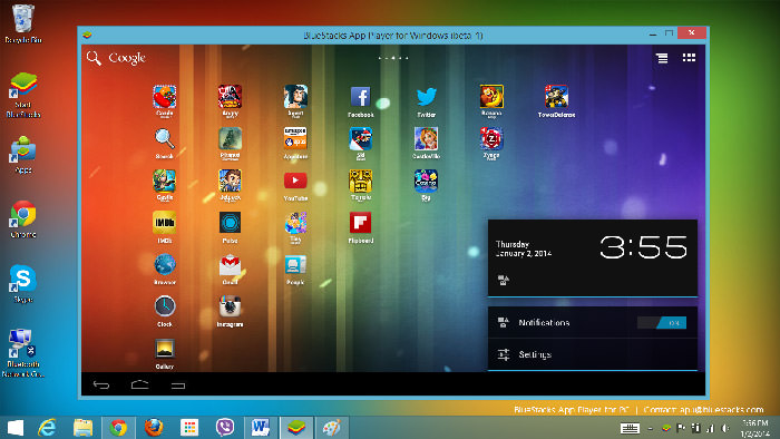 اپلیکیشن Bluestacks