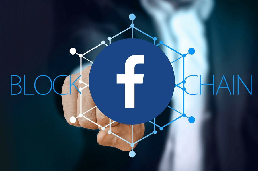 facebook interest in blockchain startups