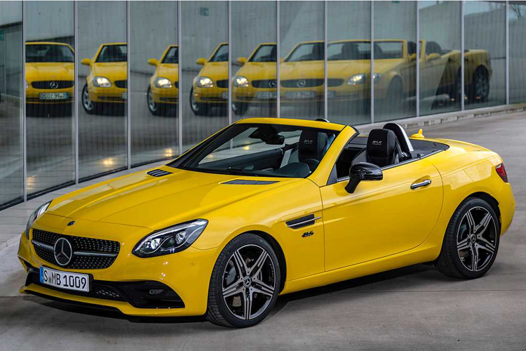 Mercedes SLC Final Editio