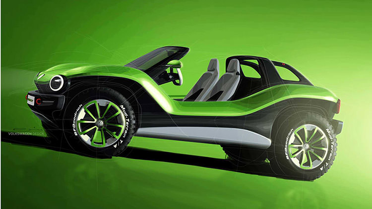 Volkswagen I.D. Buggy Concept / مفهومی فولکس واگن